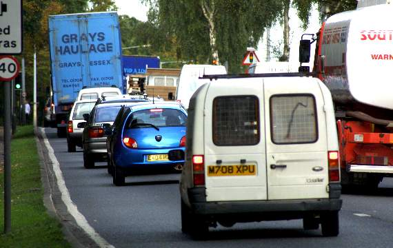 TRAFFIC: Delays in Canvey