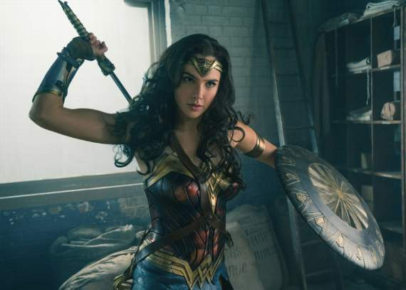 How 'Wonder Woman' built a world of women, onscreen and off