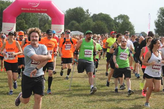 Almost 2,500 runners take part in Southend Half Marathon