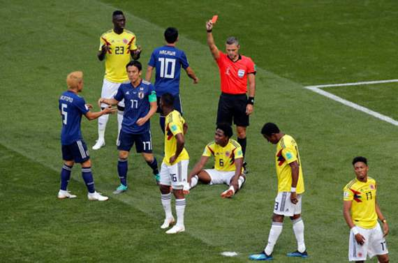 Colombia fret over star as embattled Japan loom